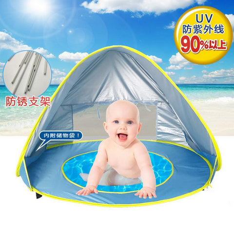 Baby Beach & Outdoor Tent - UV Protection - Portable Sun Shelter