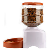Automatic Pet Feeder with Voice Message Recording and LCD Screen
