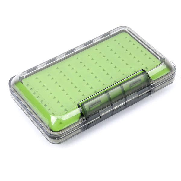 Large Double Sided Slimline Waterproof Clear Lid Fly Box