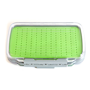 Extra-Large Silicone Double Sided Clear Lid Fly Box