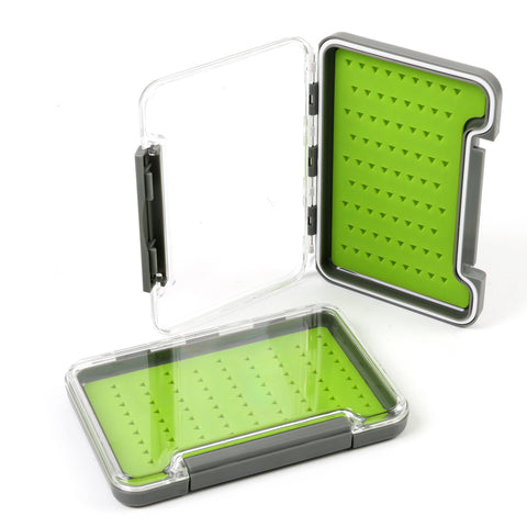 Small Slimline Waterproof Clear Lid Fly Box