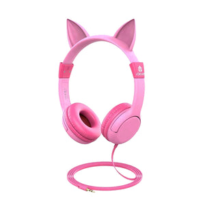 Adjustable Pink Cat Headphones - Unicornabilia