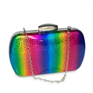 Rainbow Clutch Crossbody Purse - Unicornabilia