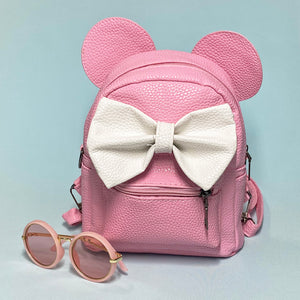 Mouse Ears Bow Backpack - Unicornabilia