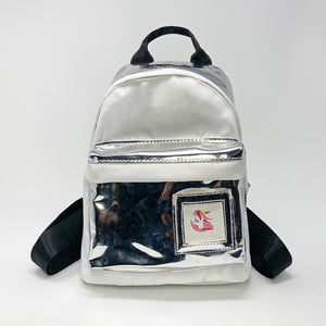 Chrome & White Backpack