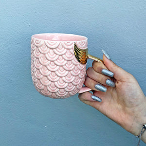 Mermaid Golden Tail Mug - Unicornabilia