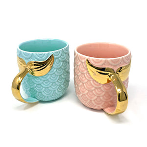Mermaid Golden Tail Mug