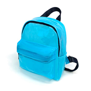 Blue Jelly Mini Backpack