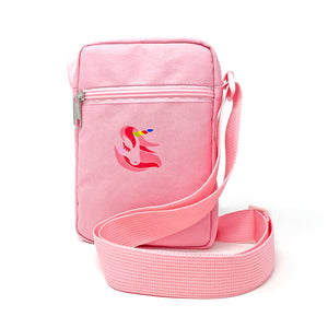 Pink Mini Crossbody Bag