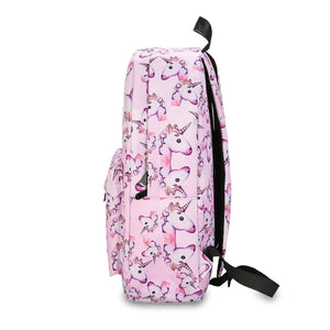 Pastel Swirl Unicorn Backpack - Unicornabilia
