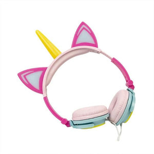 Light-Up Unicorn Headphones - Unicornabilia