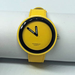 Minimalist Yellow Watch