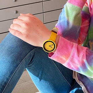 Minimalist Yellow Watch - Unicornabilia