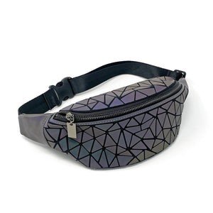 Color-Changing Fanny Pack (Reflective Matte Black) - Unicornabilia