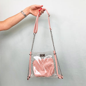 Pink Diamond Stitch Bag - Unicornabilia