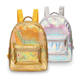 Holographic Metallic Backpack - Unicornabilia