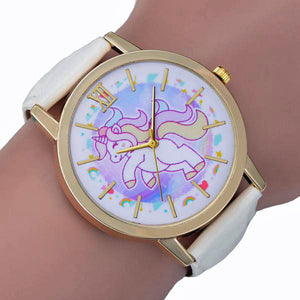 White & Gold Unicorn Watch - Unicornabilia
