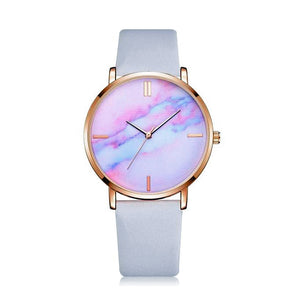 Pink Marble Face Watch - Unicornabilia