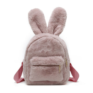Plush Bunny Ears Mini Backpack - Unicornabilia