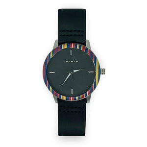 Striped Bamboo Watch - Unicornabilia