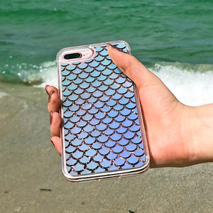Rainbow Mermaid Scales iPhone Case - Unicornabilia
