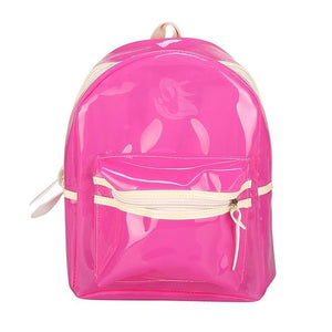 LED Light-Up Translucent Backpack - Unicornabilia