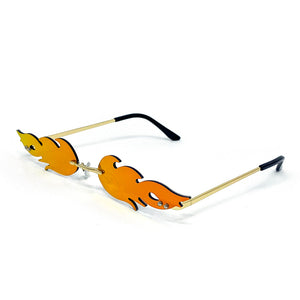Fire Flame Sunglasses - Unicornabilia