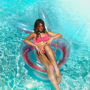 Inflatable Bunny Ears Pool Float