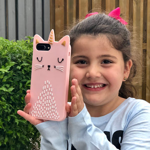 Unicorn Cat Phone Case for iPhone - Unicornabilia