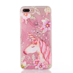 Unicorn Liquid Glitter iPhone Case - Unicornabilia