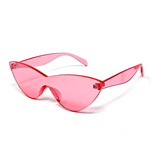 Frameless Cat Eye Sunglasses - Unicornabilia