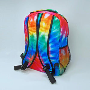Rainbow Tie-Dye Backpack