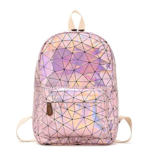 Holographic Pink Backpack - Unicornabilia