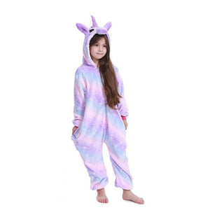 Purple Galaxy Unicorn Onesie for Kids - Unicornabilia