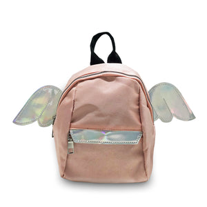 Iridescent Wings Pink Mini Backpack