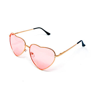 Pink Heart Shaped Sunglasses - Unicornabilia