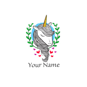 Personalized Unicorn Wall Clock - Unicornabilia