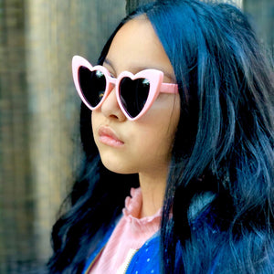 Flexible Heart Sunglasses for Kids - Unicornabilia