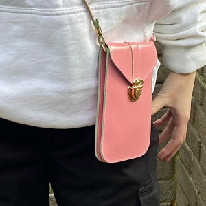 Mini Crossbody Bag - Pink - Unicornabilia