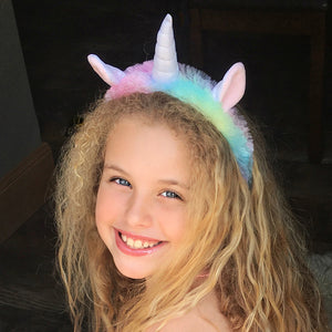 Fluffy Unicorn Headband - Unicornabilia