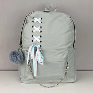 Lace Up Bag Set (Backpack, Tote, Crossbody, Pouch) - Unicornabilia