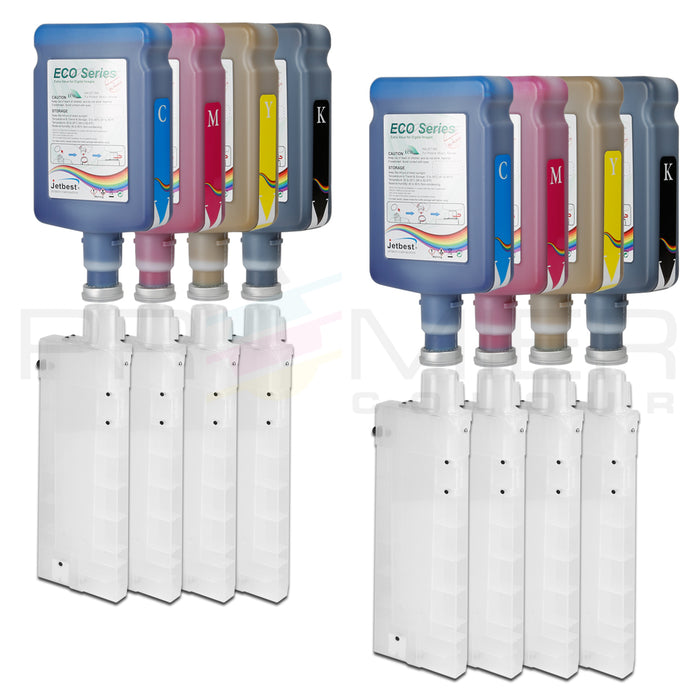 JETBEST MAX, BULK INK SYSTEM FOR ROLAND VS300, VS540, VS640 PRINTER