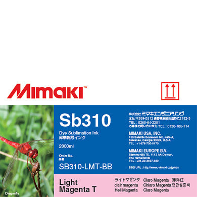 Mimaki Sb310 Dye Sublimation Ink, 2,00ML, I-Sb310-X-BB