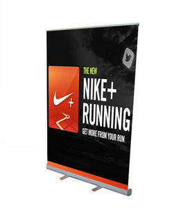 Retractable Roll Up Banner Stand 57""
