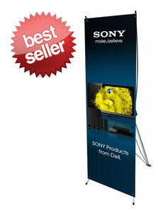 "Small X Banner Stand 24"" x 63"""