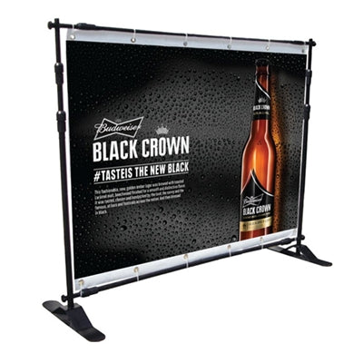 Telescopic Step & Repeat Banner Stand 8Ft