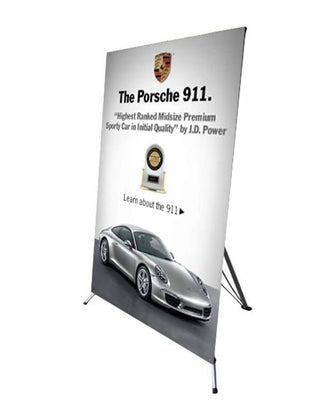 Large X Banner Stand 48