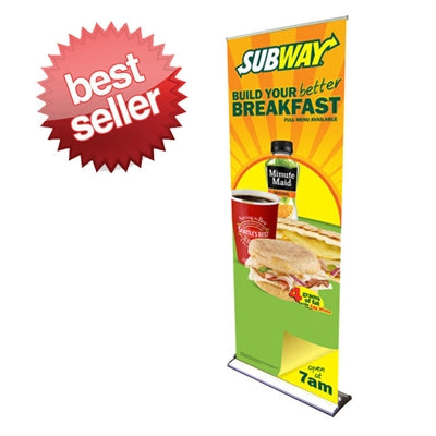 HD Retractable Banner Stand 24