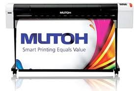"Mutoh RJ900X, 44"" DYE SUBLIMATION PRINTER (OUT OF DOOR PRICE!)"