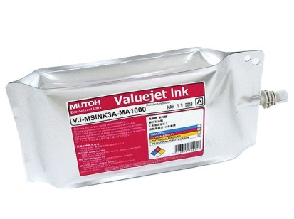 OEM Mutoh Adapter for 1 Liter Eco Ultra Ink Bag